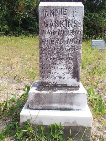 Williams -- Gaskins Cemetery Ocracoke Island, N.C.